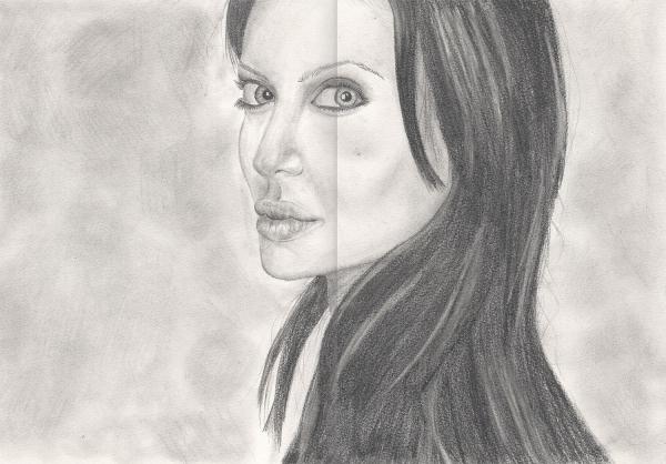 Angelina Jolie by Nervus70